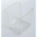 Бокс для бумаги Кип, 90х90х90мм, прозрачный (БК999п)