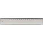 Линейка пластиковая Спектр, прозрачная, 20 см (Л-200п)