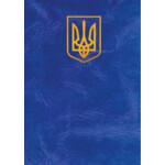 """Папка """"Герб"""", А4+, балакрон, синяя (ПП-2гс)"""