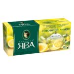 Чай Принцеса Ява Сочный лимон зелёный 1.5г*25 пакет (рy.104015)