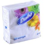 Салфетки бумажные Диво, 240х250 мм, белые, 50 шт (сп.дв24х25/50)