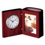 Набор настольный Bestar (часы, фоторамка, подставка), красное дерево (0056XJU)