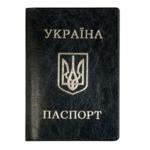 Обложка для паспорта Panta Plast, черный, кожзам, стандарт (0300-0027-01)