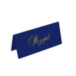 Настольная табличка Panta Plast РЕЗЕРВ, 68х151 мм, винил, темно-синий (0300-0035-02)