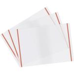 Обложка для дневников и тетрадей Panta Plast с самоклеющимся клапаном, 550х310 мм, PP, глянцевая, прозрачная, 10 шт (0302-0076-00)