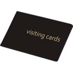 Визитница Panta Plast, 24 визитки, черный (0304-0001-01)