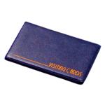 Визитница Panta Plast, 24 визитки, темно-синий (0304-0002-02)