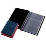 Визитница Panta Plast, 60 визиток, черный (0304-0004-01)