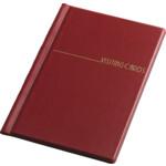 Визитница Panta Plast, 60 визиток, бордовый (0304-0004-10)