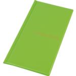 Визитница Panta Plast, 96 визиток, салатовый (0304-0005-28)
