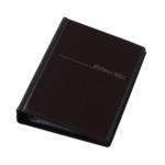 Визитница Panta Plast, 200 визиток, черный (0304-0008-01)