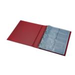 Визитница Panta Plast, 400 визиток, бордовый (0304-0009-10)