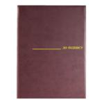Папка На подпись Panta Plast, А4, винил, бордовый (0309-0019-10)