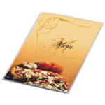 Папка Меню Panta Plast Pizza, А4, PVC, три стороны, прозрачная (0309-0046-99)