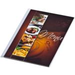 Папка Меню Panta Plast Cafe, А4, PVC, 6 файлов, прозрачная (0309-0050-99)