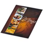 Папка Меню Panta Plast Cafe, А4, PVC, две стороны, прозрачная (0309-0051-99)