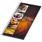 Папка Меню Panta Plast Cafe, 1/2А4, PVC, 6 файлов, прозрачная (0309-0057-99)