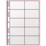 Файл для 20 визиток Panta Plast, А4, PVC (0311-0003-00), 10 шт