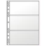 Файл для банкнот Panta Plast, А4, 11 отверстий, PVC (0312-0004-00), 10 шт