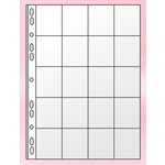 Файл для 20 монет Panta Plast, А4, 11 отверстий, PVC (0312-0005-00), 10 шт