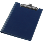 Клипборд Panta Plast, А4, винил, темно-синий (0314-0002-02)