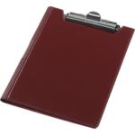 Клипборд Panta Plast, А4, винил, бордовый (0314-0002-10)