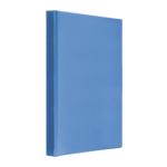Регистратор Panta Plast Панорама, A4, 70 мм, кольцевой механизм, 4 кольца, т-синий (0316-0026-02)