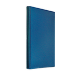Регистратор Panta Plast Панорама, A4, 40 мм, кольцевой механизм, 4 кольца, т-синий (0316-0024-02)