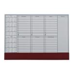 Настольный недельный планинг Panta Plast 0318-0005-11, 2018-2019 гг, 30л., коричневый