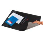 Подкладка для письма черная Panta Plast, PVC, 652х512 мм (0318-0013-01)