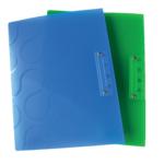 Папка с боковым прижимом Panta Plast Omega, А4, ассорти (0410-0040-99)