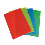 Папка-уголок Panta Plast Omega, А4, ассорти (0410-0042-50)