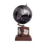 Глобус Bestar, BLACK SILVER на дер.подст метеостанция (0966HJX-BS)