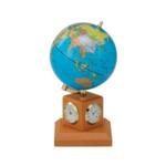 Глобус 10,6 см BLUE на дер.подст метеостанция Bestar,