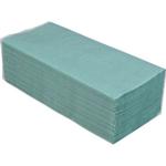 Полотенца макулатурные Buroclean V-образные зеленые 200 шт (10100107)