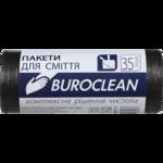 Пакеты для мусора BuroClean Eco, черные, 25 л, 30 шт (10200011)