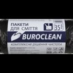 Пакеты для мусора BuroClean Eco, черные, 35 л, 50 шт (10200015)