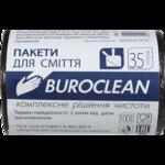 Пакеты для мусора BuroClean Eco, черные, 35 л, 100 шт (10200021)