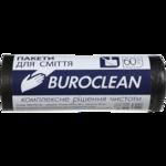 Пакеты для мусора BuroClean Eco, черные, 60 л, 20 шт (10200031)