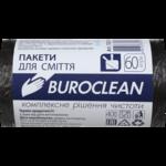 Пакеты для мусора BuroClean Eco, черные, 60 л, 40 шт (10200035)