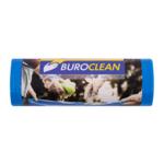Пакеты для мусора BuroClean 120л/10 шт крепкие синие (10200043)