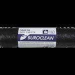 Пакеты для мусора BuroClean Eco, черные, 160 л, 10 шт (10200051)