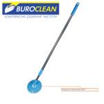 Кий BuroClean с механизмом вращения для влажной и сухой уборки (10300111)