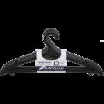 Вешалки для одежды BuroClean, 1 шт, черный (10300880)