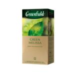 Чай зеленый Greenfield Green Melissa 1,5гх25шт., в пакетиках (106003)