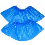 Бахилы Buroclean полиэтиленовые голубые 50 пар (10600300)
