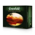 Чай черный Greenfield Golden Ceylon пакетированный 50x2 г (gf.106203)