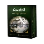 Чай черный Greenfield Earl Grey Fantasy 2гх100шт., в пакетиках (106404)