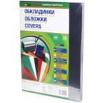 Обложки пластиковые D&A, прозрач, бесцв, А4, 150 мкн, 100 шт (1220102010200)