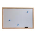 Доска магнитная Top Board Wood-Frame 40x60см (13130)